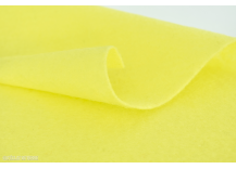 Feutrine en coupon de 20x30cm 2 mm Citron