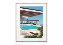 Affiche 40x50 cm STAHL HOUSE