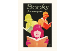 Affiche 30x40 cm BOOKS FOR EVERYONE